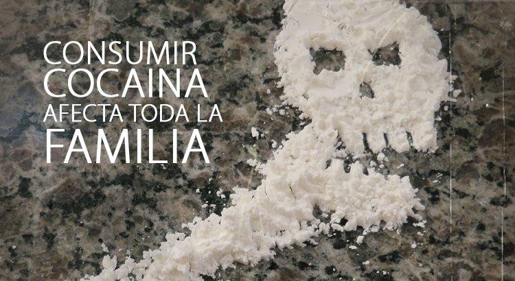 consumir cocaina afecta a toda la familia